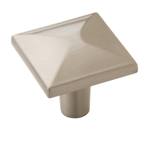 Amerock A-BP29370-G10 Extensity Satin Nickel  Square Knob - KnobDepot.com