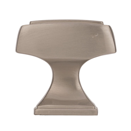 Amerock A-BP53029-G10 Mulholland Satin Nickel  Rectangular Knob - KnobDepot.com