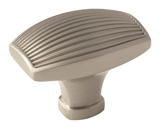 Amerock A-BP36614G10 Sea Grass  Satin Nickel Rectangular Knob - KnobDepot.com