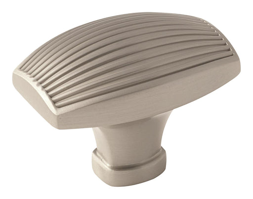 Amerock A-BP36617G10 Sea Grass  Satin Nickel Rectangular Knob - KnobDepot.com