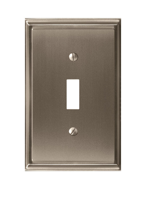 Amerock A-BP36514G10 Mulholland Satin Nickel Wall Plate - Knob Depot