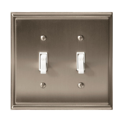 Amerock A-BP36515G10 Mulholland Satin Nickel Wall Plate - Knob Depot