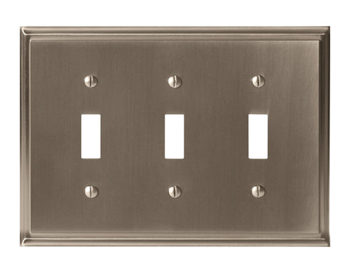 Amerock A-BP36516G10 Mulholland Satin Nickel Wall Plate - Knob Depot