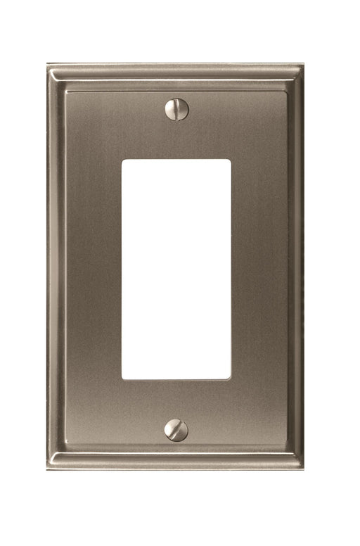Amerock A-BP36518G10 Mulholland Satin Nickel Wall Plate - Knob Depot