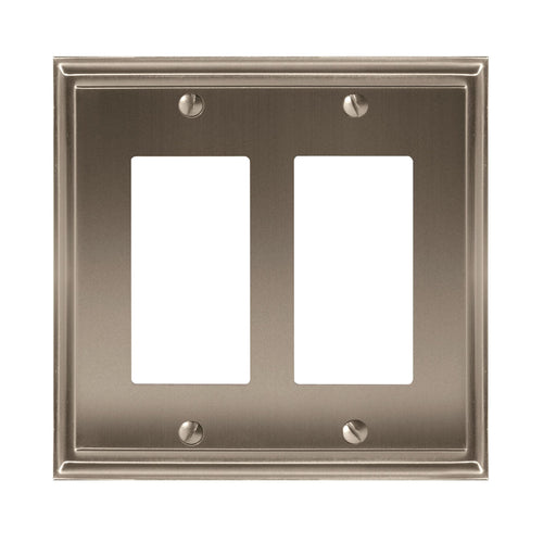 Amerock A-BP36519G10 Mulholland Satin Nickel Wall Plate - Knob Depot