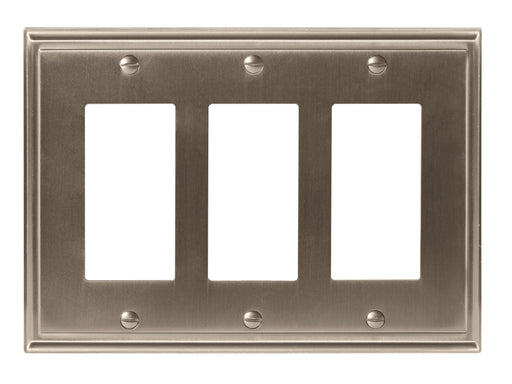 Amerock A-BP36520G10 Mulholland Satin Nickel Wall Plate - Knob Depot