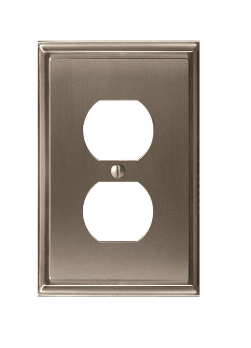 Amerock A-BP36522G10 Mulholland Satin Nickel Wall Plate - Knob Depot