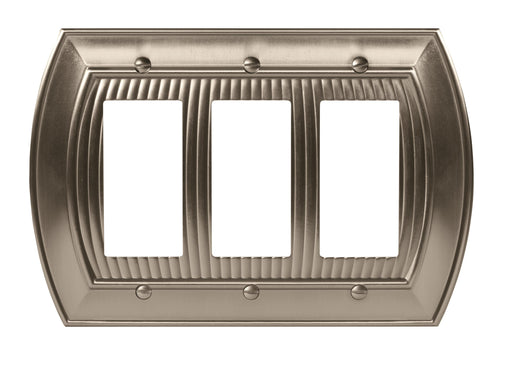 Amerock A-BP36534G10 Sea Grass Satin Nickel Wall Plate - Knob Depot