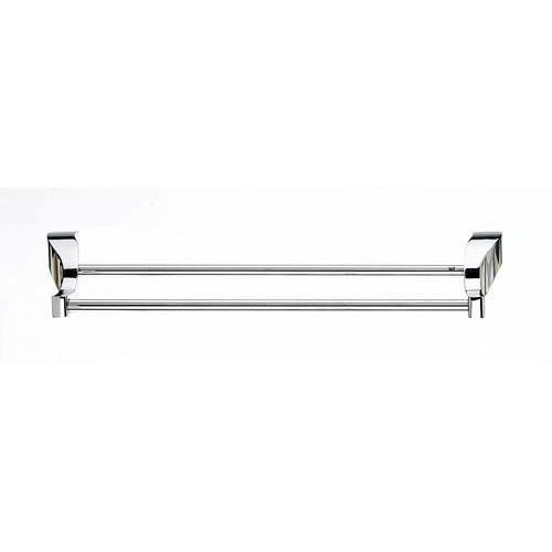 Top Knobs T-AQ11PC Aqua - Bathroom Polished Chrome Towel Bar - KnobDepot.com