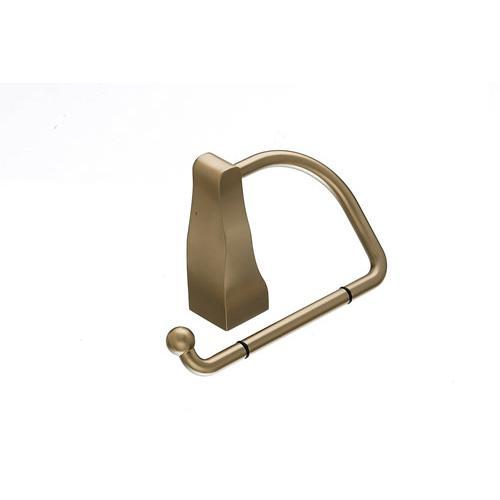 Top Knobs T-AQ4BB Aqua - Bathroom Brushed Bronze Toilet Tissue Holder - KnobDepot.com