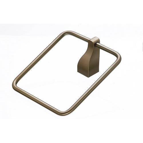 Top Knobs T-AQ5BB Aqua - Bathroom Brushed Bronze Towel Ring - KnobDepot.com
