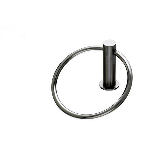 Top Knobs T-HOP5BSN Hopewell - Bathroom Brushed Satin Nickel Towel Ring - KnobDepot.com