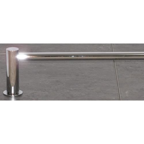 Top Knobs T-HOP8PC Hopewell - Bathroom Polished Chrome Towel Bar - KnobDepot.com