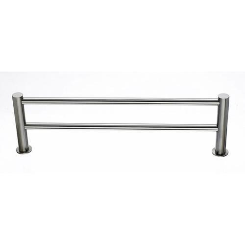 Top Knobs T-HOP9BSN Hopewell - Bathroom Brushed Satin Nickel Towel Bar - KnobDepot.com