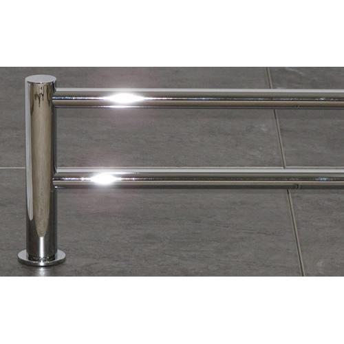 Top Knobs T-HOP9PC Hopewell - Bathroom Polished Chrome Towel Bar - KnobDepot.com