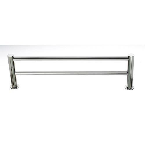 Top Knobs T-HOP9PN Hopewell - Bathroom Polished Nickel Towel Bar - KnobDepot.com