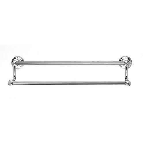 Top Knobs T-HUD11PC Hudson - Bathroom Polished Chrome Towel Bar - KnobDepot.com
