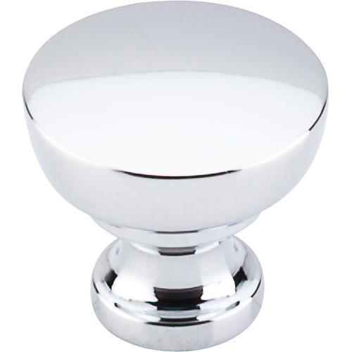 Top Knobs T-M1121 Dakota Polished Chrome Round Knob - KnobDepot.com
