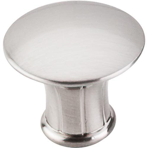 Top Knobs T-M1306 Asbury Brushed Satin Nickel Round Knob - KnobDepot.com