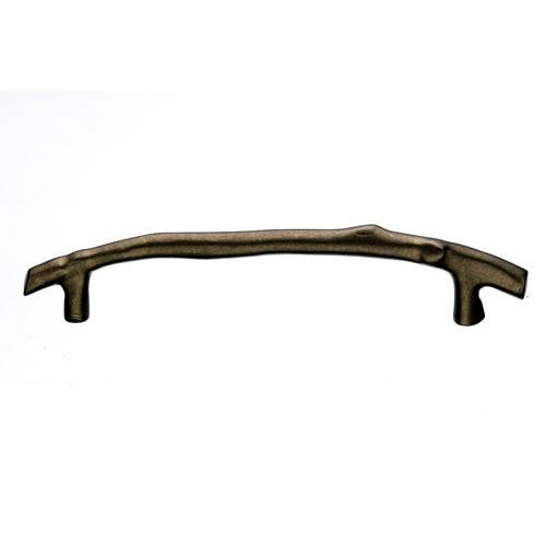 Top Knobs T-M1356 Aspen Light Bronze  Twig Pull - KnobDepot.com
