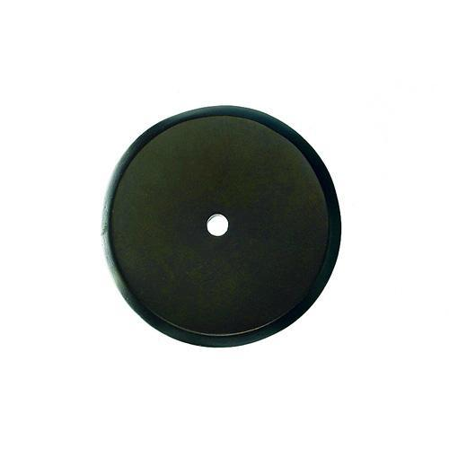 Top Knobs T-M1462 Aspen Medium Bronze  BackPlate - KnobDepot.com
