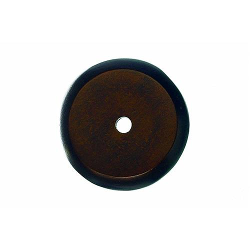 Top Knobs T-M1463 Aspen Mahogany Bronze  BackPlate - KnobDepot.com
