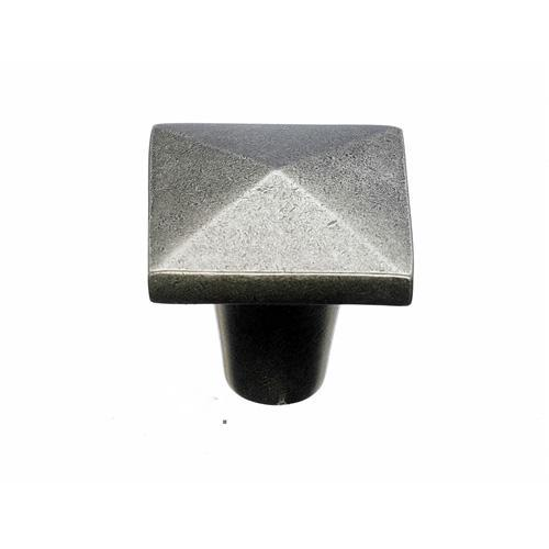 Top Knobs T-M1515 Aspen Silicon Bronze Light Square Knob - KnobDepot.com