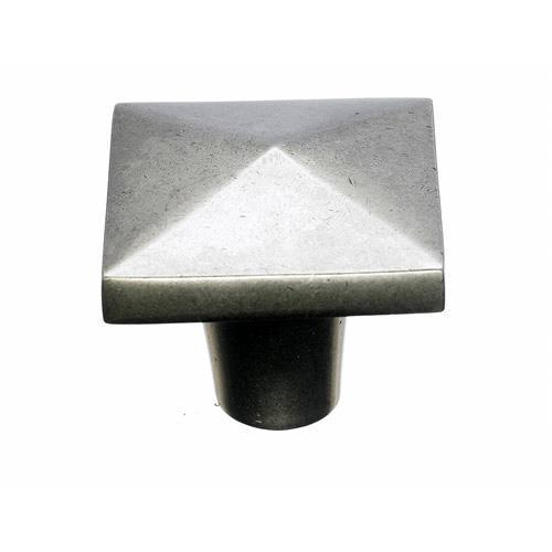 Top Knobs T-M1520 Aspen Silicon Bronze Light Square Knob - KnobDepot.com