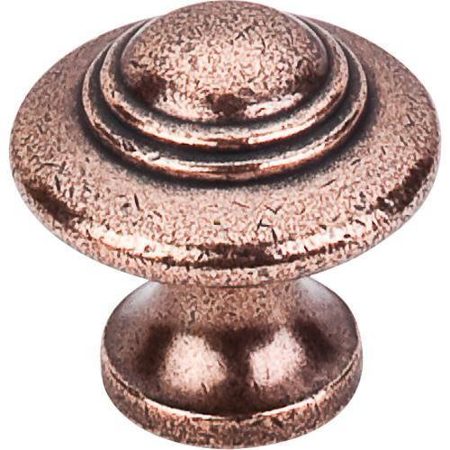 Top Knobs T-M15 Britannia Old English Copper Round Knob - KnobDepot.com
