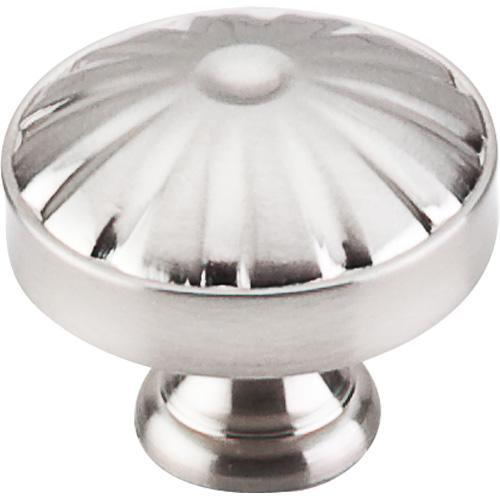Top Knobs T-M1609 Dakota Brushed Satin Nickel Round Knob - KnobDepot.com