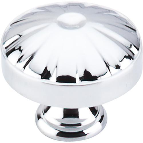 Top Knobs T-M1610 Dakota Polished Chrome Round Knob - KnobDepot.com