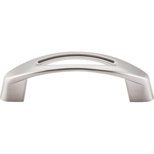 Top Knobs T-M1769 Nouveau Brushed Satin Nickel Standard Pull - Knob Depot
