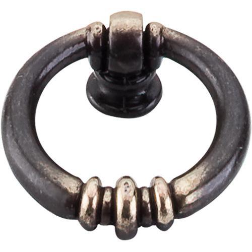 Top Knobs T-M176 Tuscany Dark Antique Brass Ring Pull - Knob Depot
