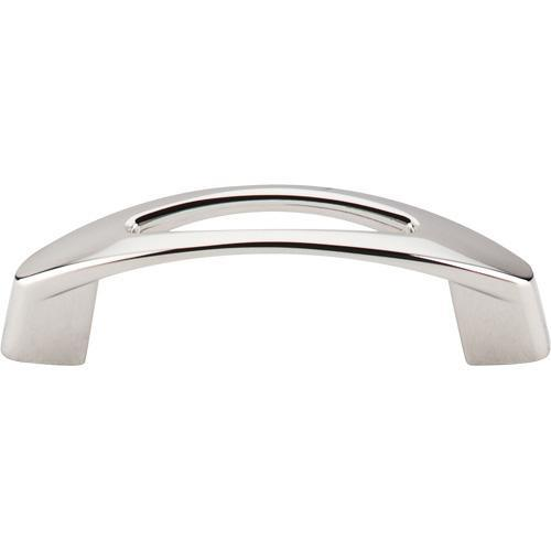 Top Knobs T-M1770 Nouveau Polished Nickel Standard Pull - Knob Depot