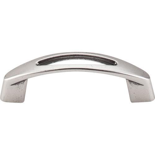 Top Knobs T-M1776 Nouveau Pewter Antique Standard Pull - KnobDepot.com