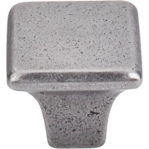 Top Knobs T-M1809 Britannia Cast Iron Square Knob - Knob Depot