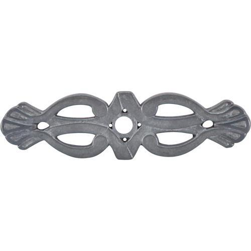 Top Knobs T-M182 Tuscany Pewter Light BackPlate - KnobDepot.com