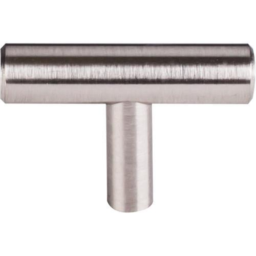 Top Knobs T-M1885 Hopewell Bar Pulls Brushed Satin Nickel T-Knob - Knob Depot
