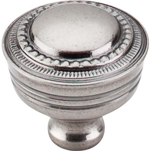 Top Knobs T-M198 Tuscany Antique Pewter Round Knob - Knob Depot