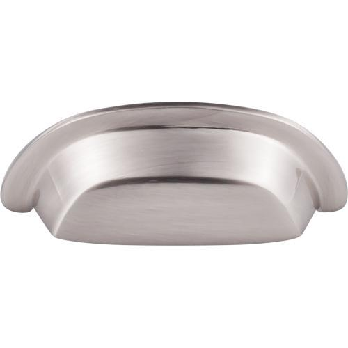 Top Knobs T-M2002 Aspen II Brushed Satin Nickel Cup Pull - KnobDepot.com