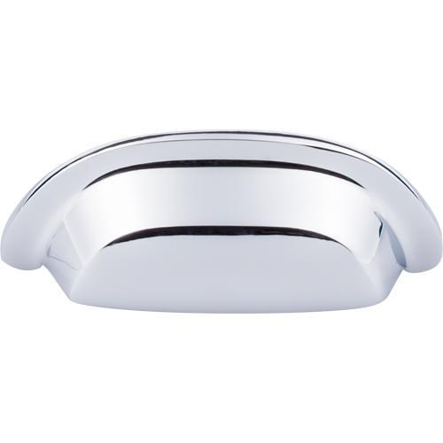 Top Knobs T-M2003 Aspen II Polished Chrome Cup Pull - Knob Depot