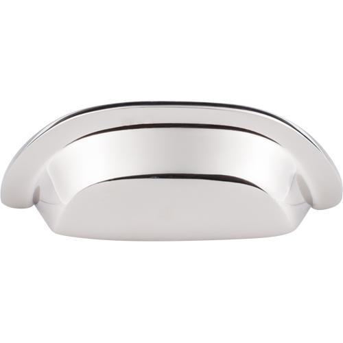 Top Knobs T-M2004 Aspen II Polished Nickel Cup Pull - Knob Depot