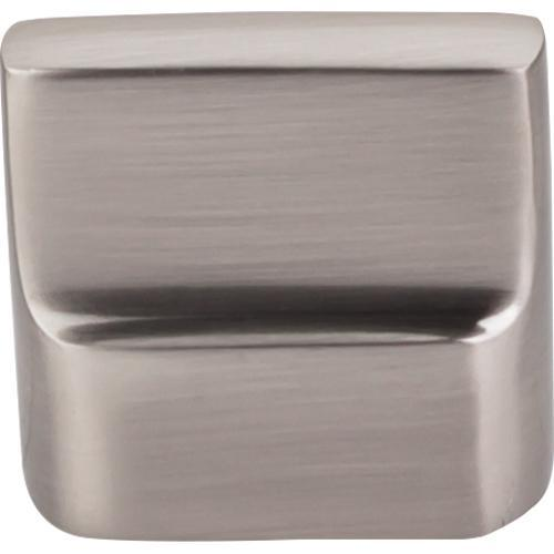 Top Knobs T-M2050 Aspen II Brushed Satin Nickel Finger Pull - Knob Depot