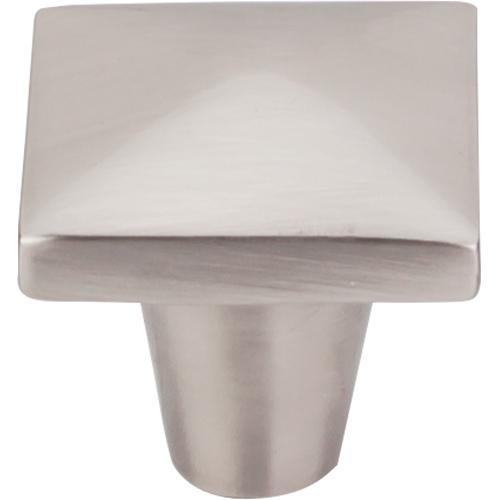 Top Knobs T-M2059 Aspen II Brushed Satin Nickel Square Knob - Knob Depot