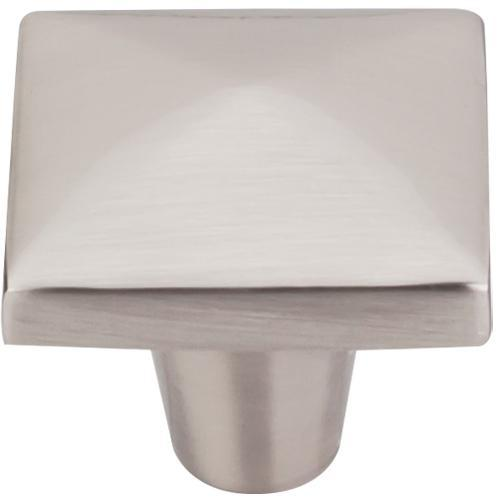 Top Knobs T-M2062 Aspen II Brushed Satin Nickel Square Knob - Knob Depot