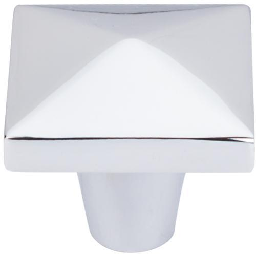 Top Knobs T-M2063 Aspen II Polished Chrome Square Knob - KnobDepot.com
