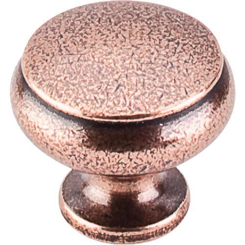 Top Knobs T-M209 Tuscany Old English Copper Round Knob - Knob Depot