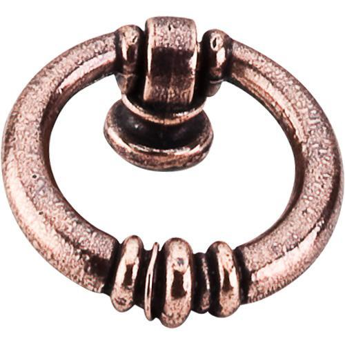 Top Knobs T-M220 Tuscany Old English Copper Ring Pull - KnobDepot.com