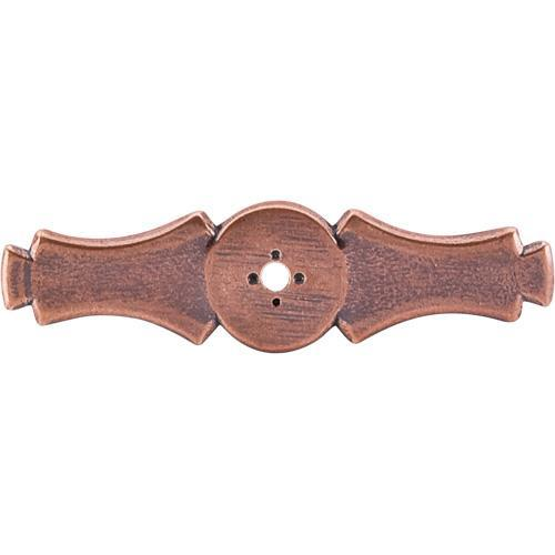 Top Knobs T-M224 Tuscany Old English Copper BackPlate - KnobDepot.com