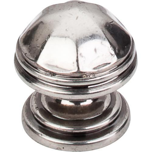 Top Knobs T-M22 Britannia Antique Pewter Round Knob - Knob Depot
